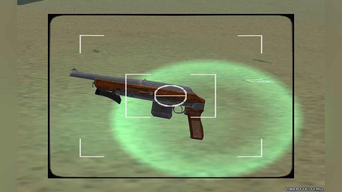 Weapon mod TOZ 106 for GTA Vice City