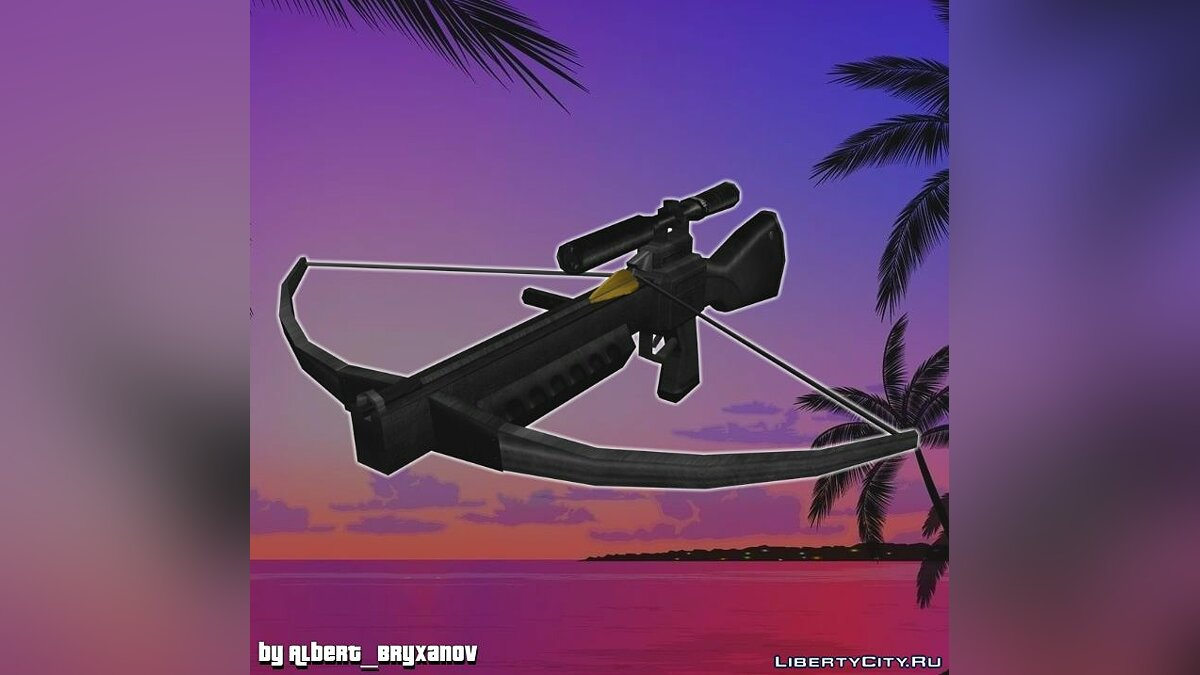 Weapon mod Crossbow from Postal 2 Eternal Damnation for GTA Vice City