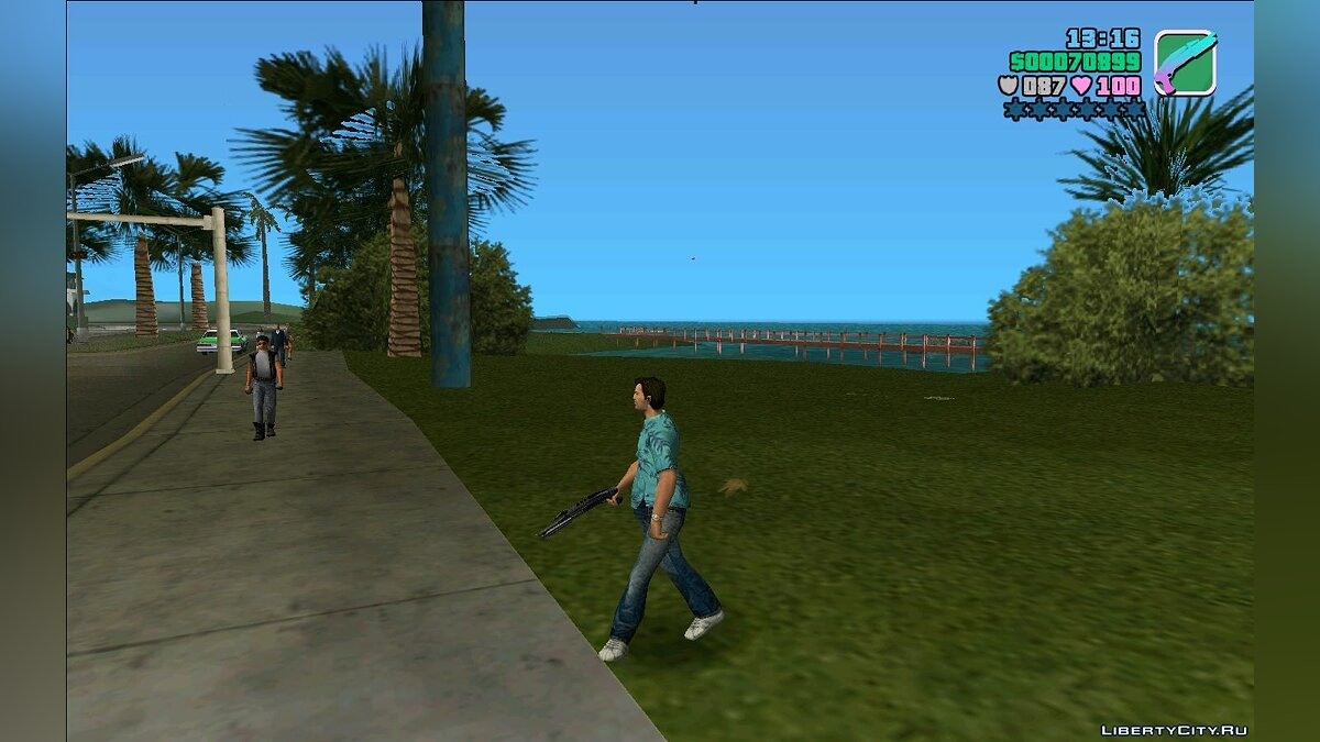 Weapon mod 870 overfolder pack for GTA Vice City