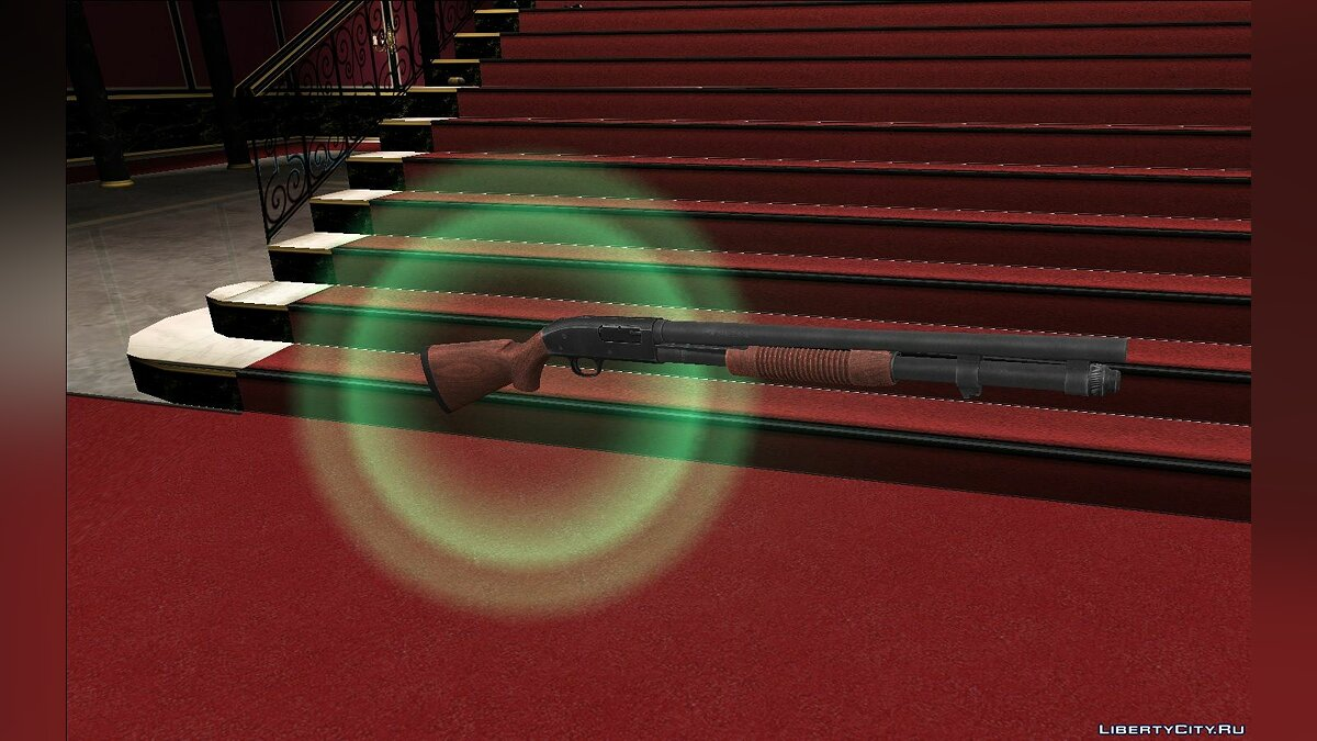 Weapon mod Mossberg 590 for GTA Vice City