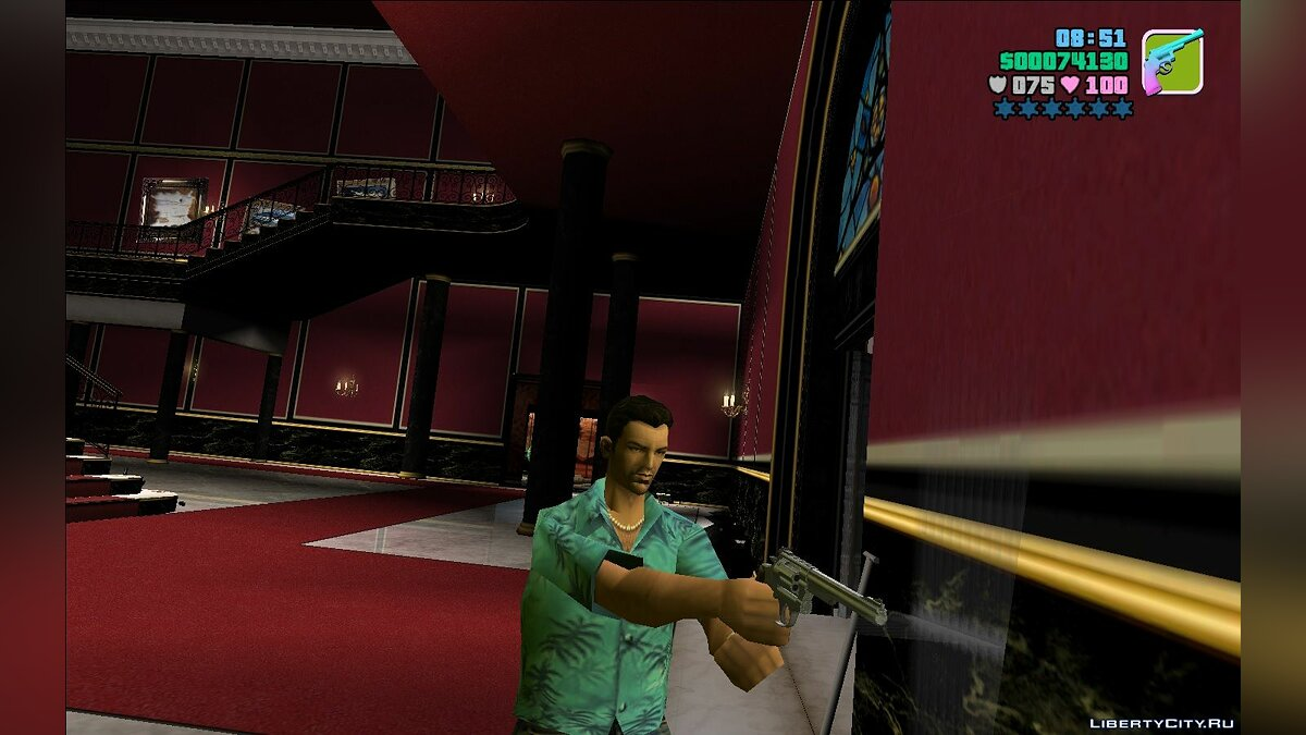 Weapon mod 44 Revolver for GTA Vice City