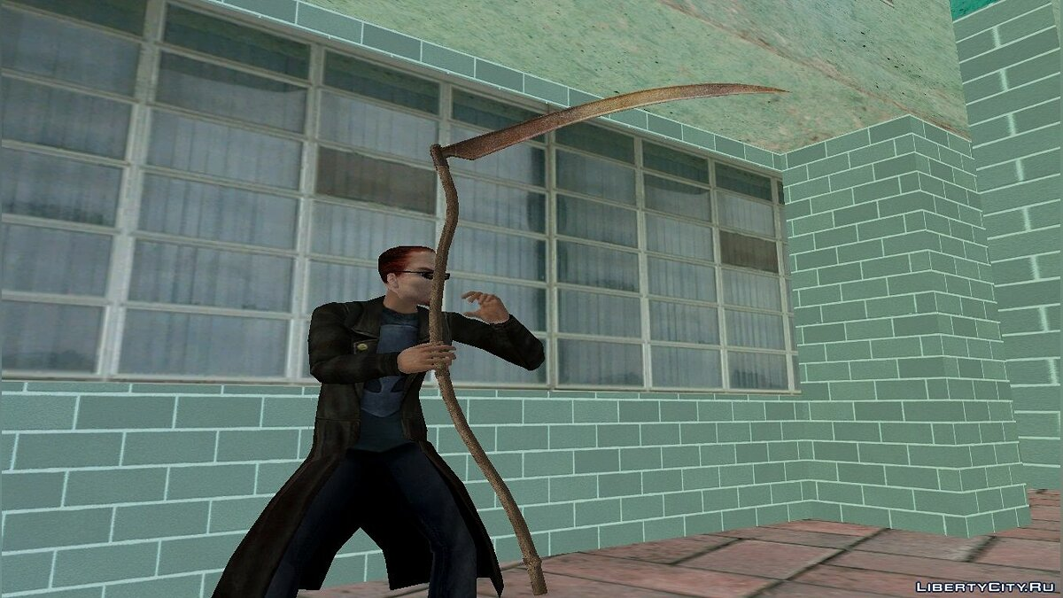 Weapon mod Spit of Postal 2 Complete for GTA Vice City