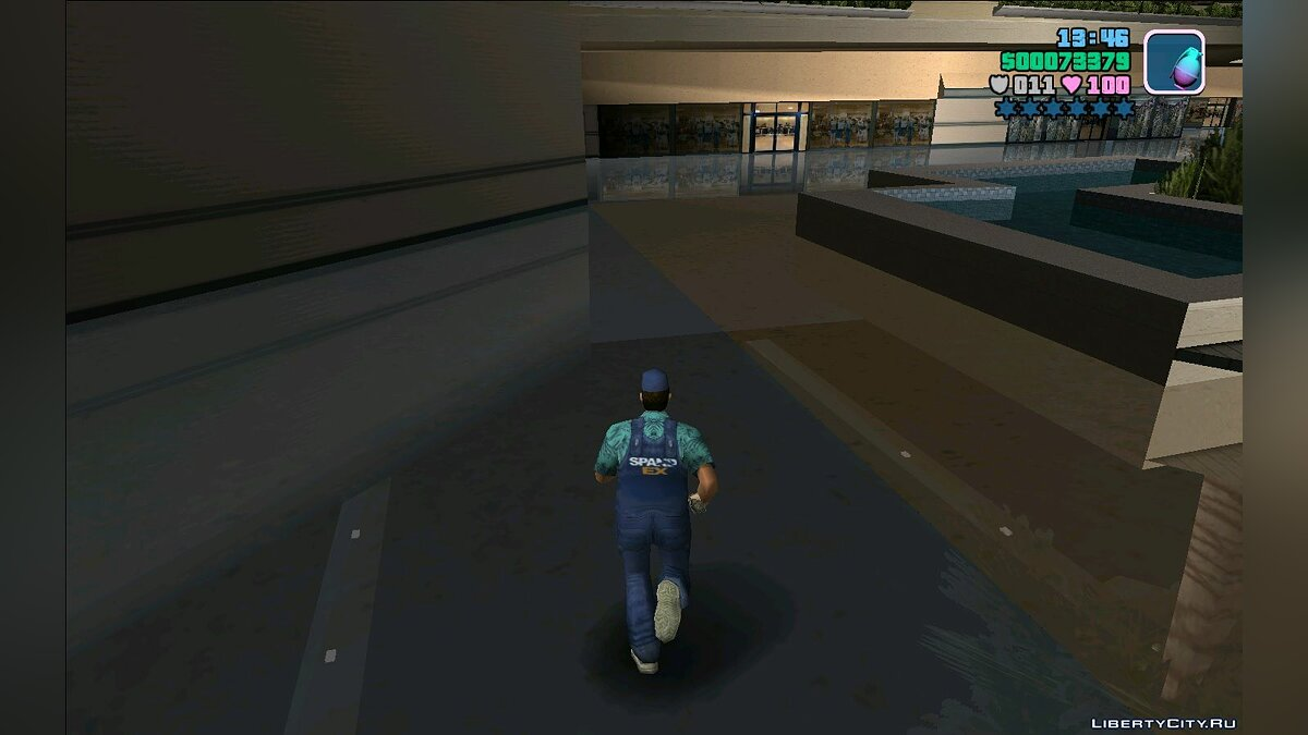 Weapon mod Grenade M26 for GTA Vice City
