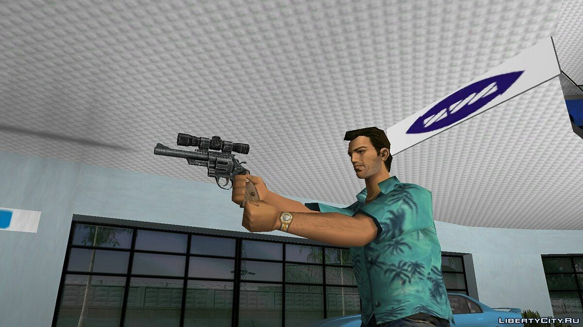 Weapon mod .44 Magnum from Fallout 3 for GTA Vice City