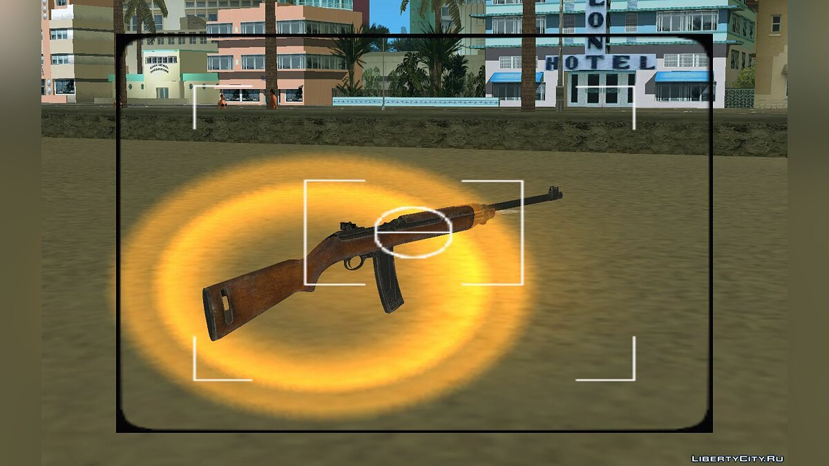 Weapon mod M2 Carbine for GTA Vice City