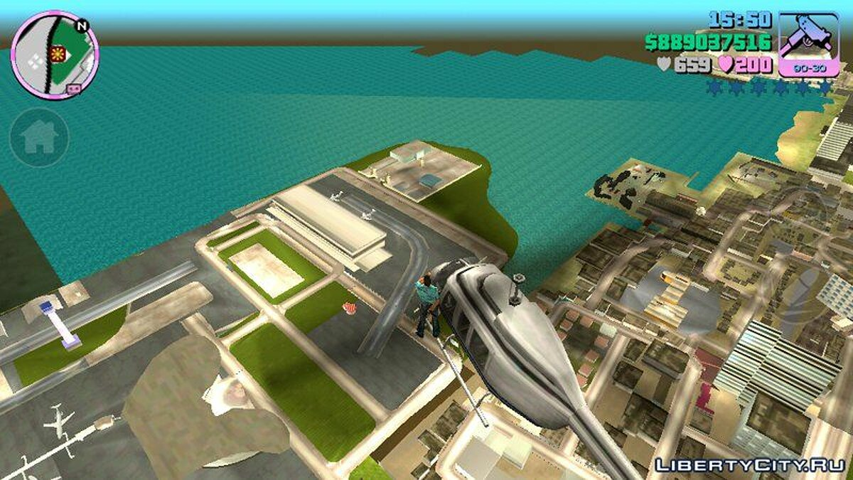 CLEO script Heli Limit Mod Android for GTA Vice City (iOS, Android)