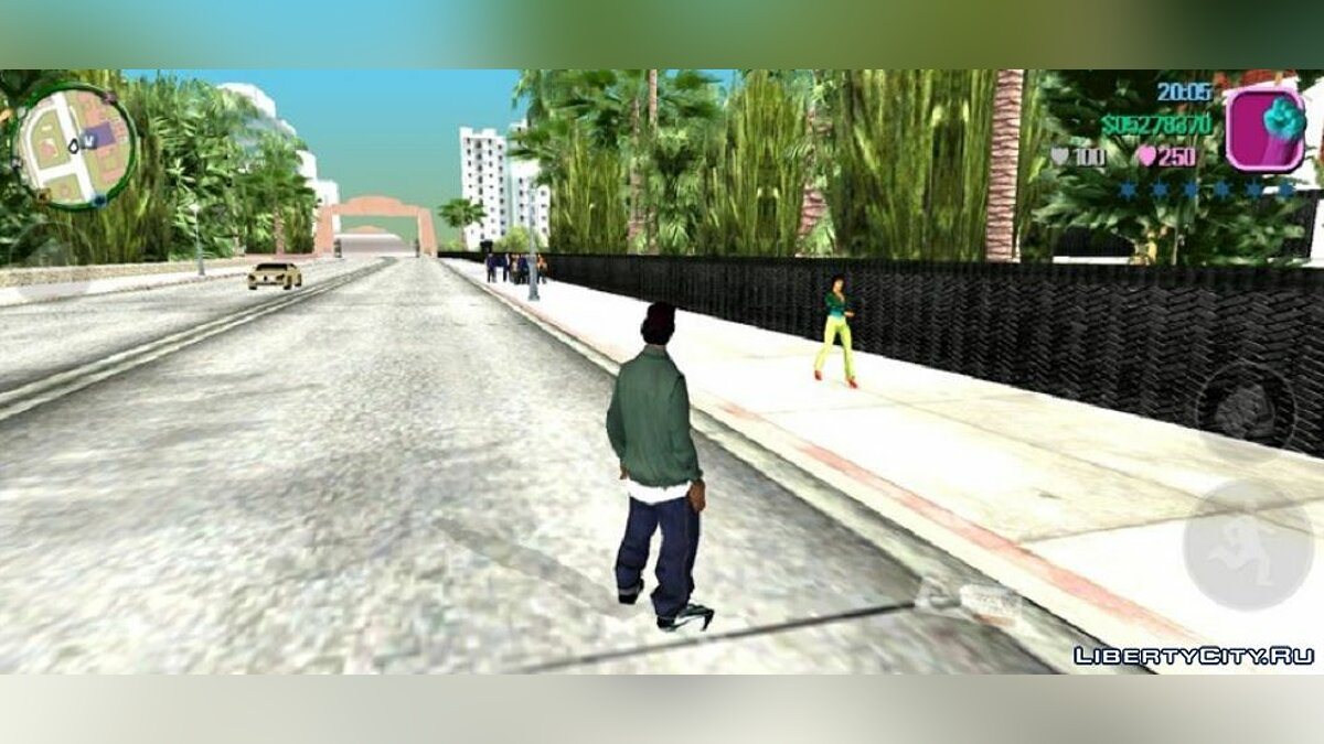CLEO script More traffic for GTA Vice City (iOS, Android)