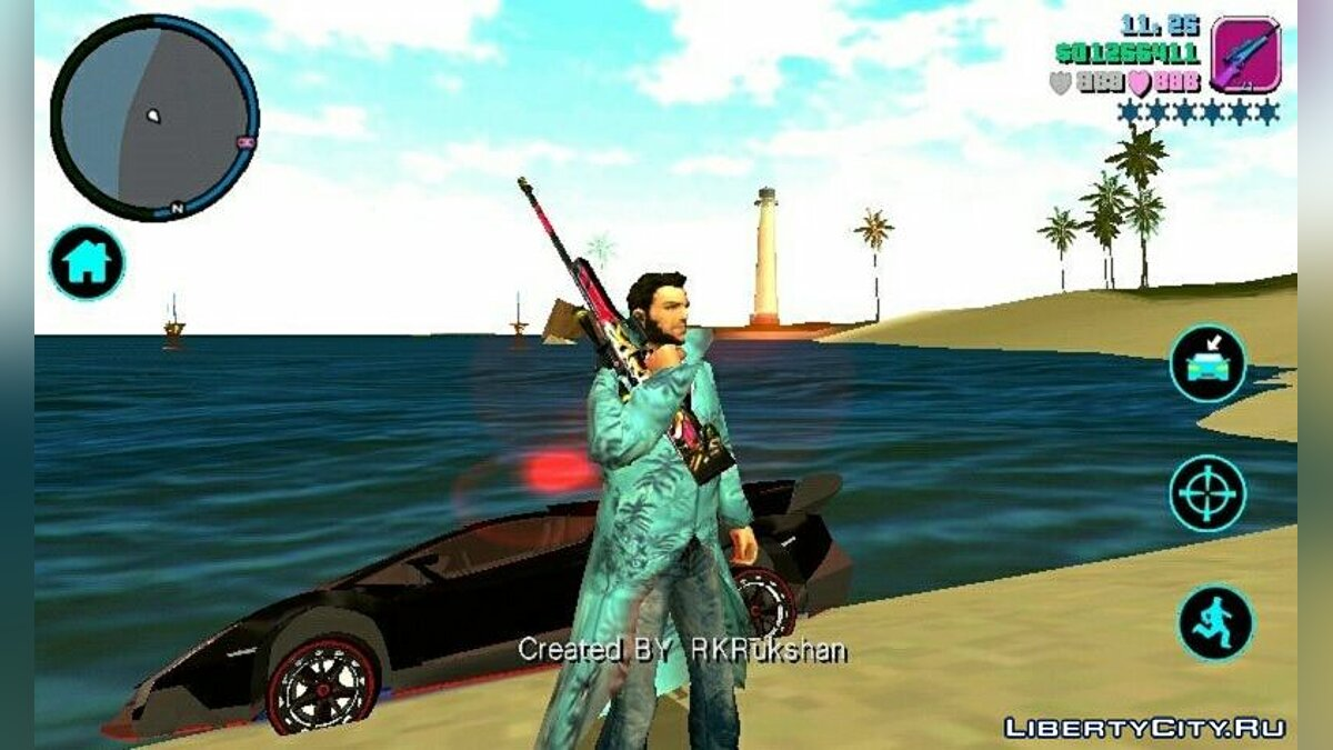 CLEO script New gangster animations for GTA Vice City (iOS, Android)