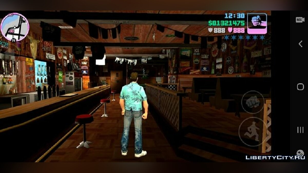 CLEO script The ability to enter hidden interiors for GTA Vice City (iOS, Android)