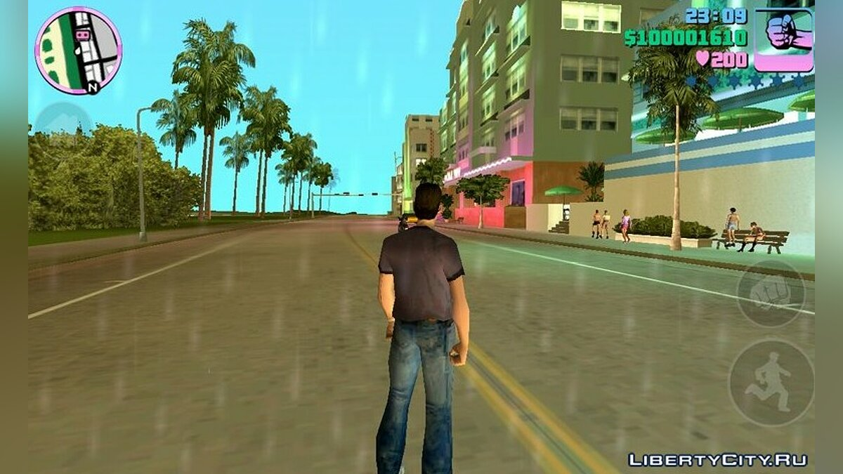 Program Always Day Mod for GTA Vice City (iOS, Android)