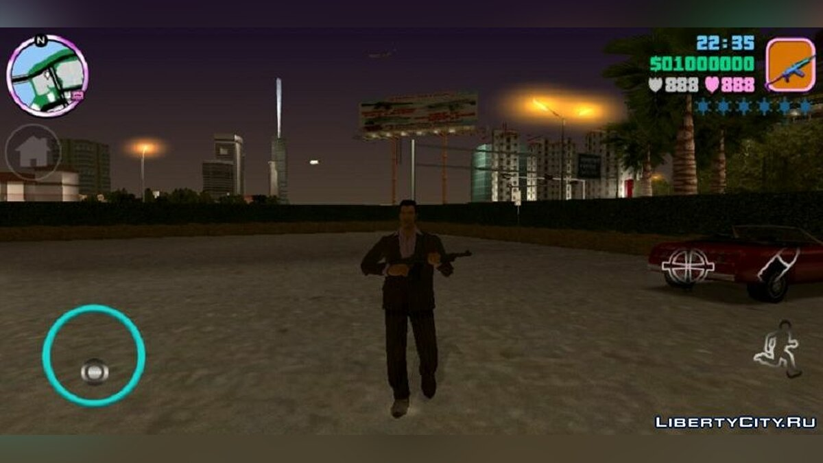 Texture mod HQ radar and new icons for GTA Vice City (iOS, Android)