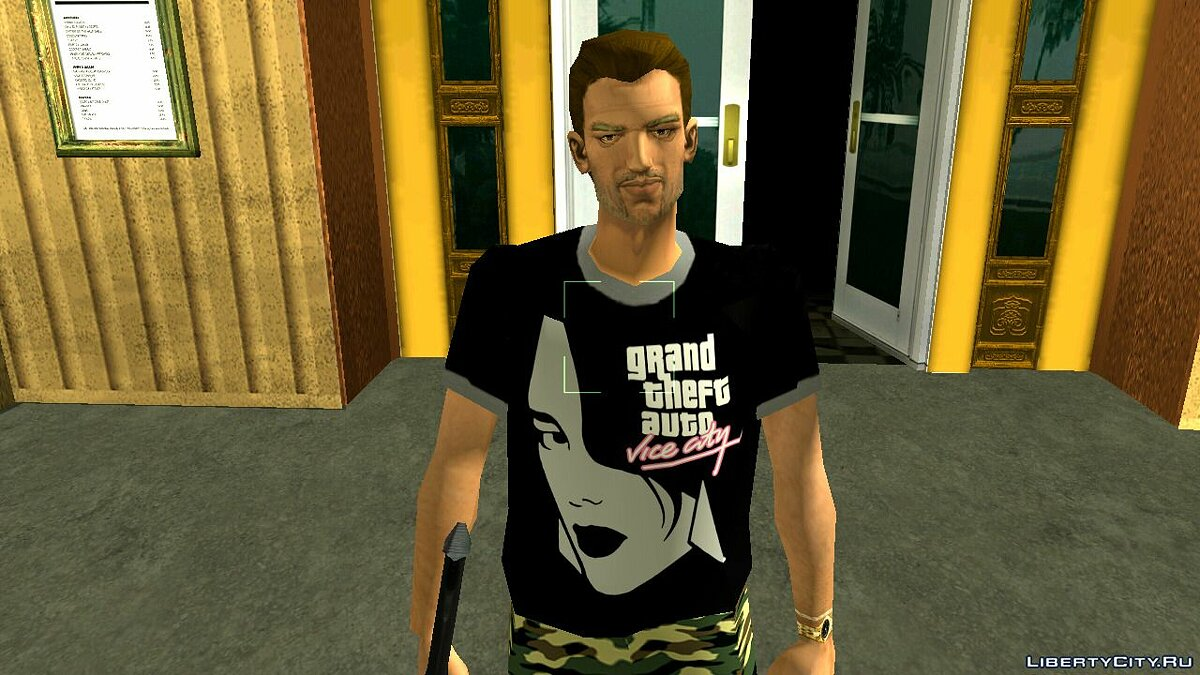 Texture mod Frankie's clothes for GTA Vice City (iOS, Android)