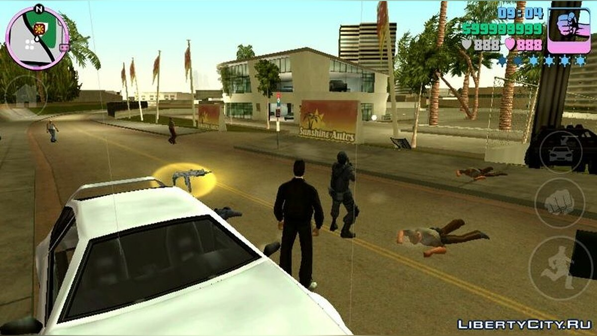 Texture mod New textures for SWAT for GTA Vice City (iOS, Android)