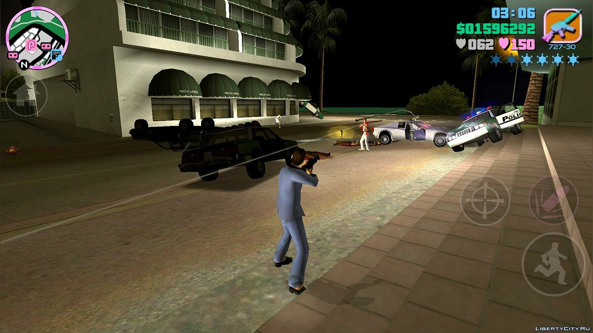 Texture mod Hood their PC version for GTA Vice City (iOS, Android)