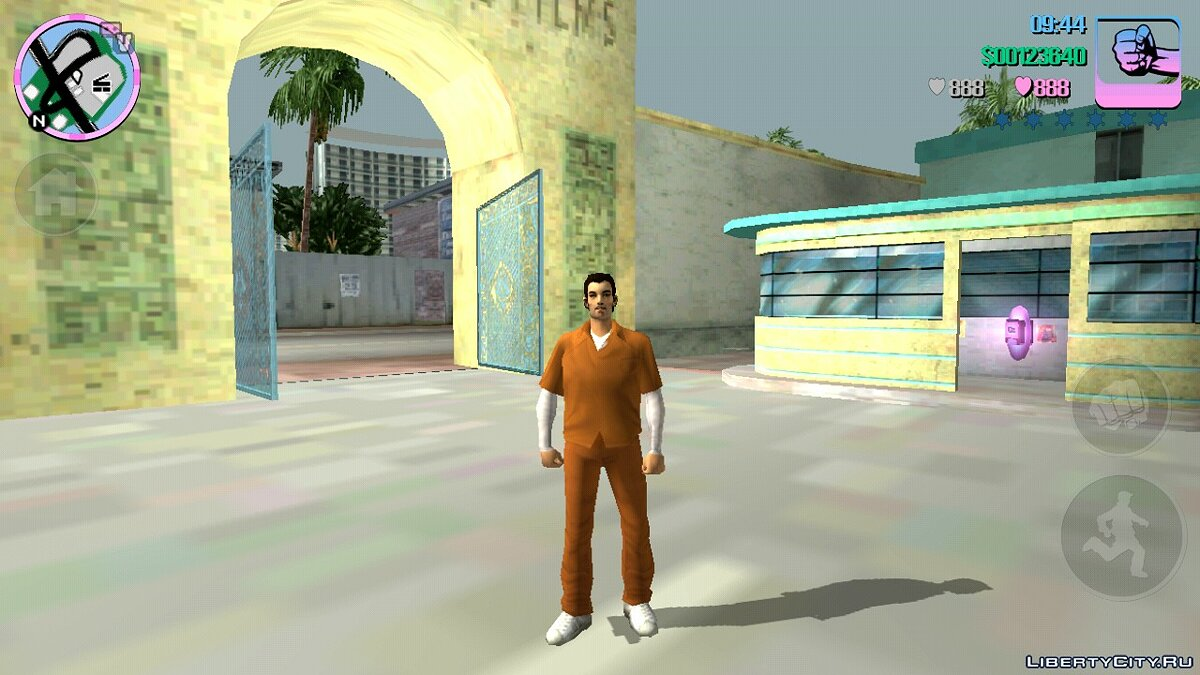 Mod Claude Speed for GTA Vice City (iOS, Android)