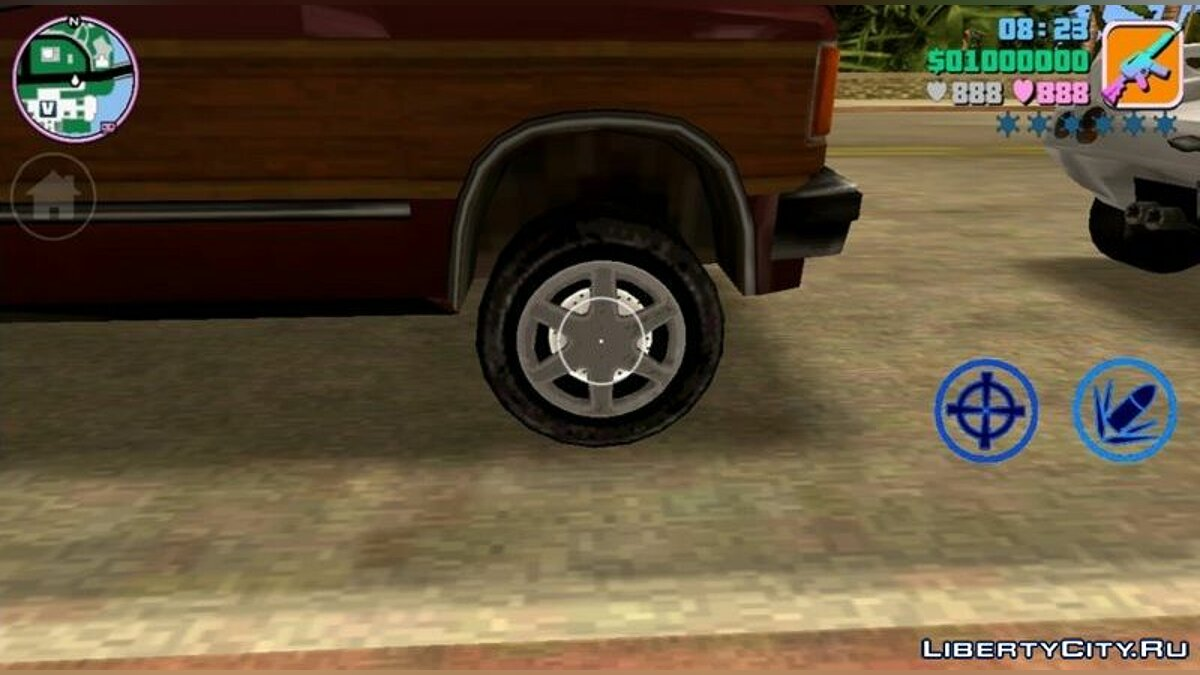 Mod New wheels for GTA Vice City (iOS, Android)