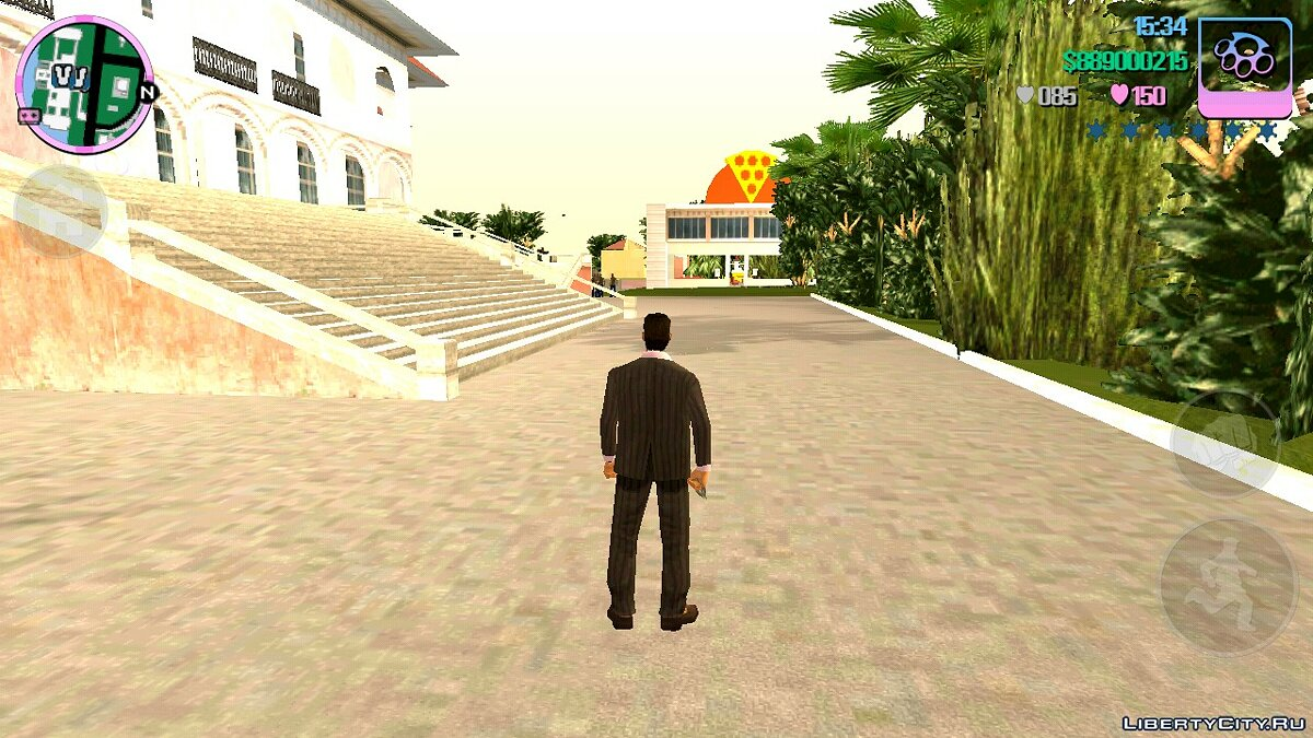 Mod Pizzeria at Tommy's Mansion for GTA Vice City (iOS, Android)