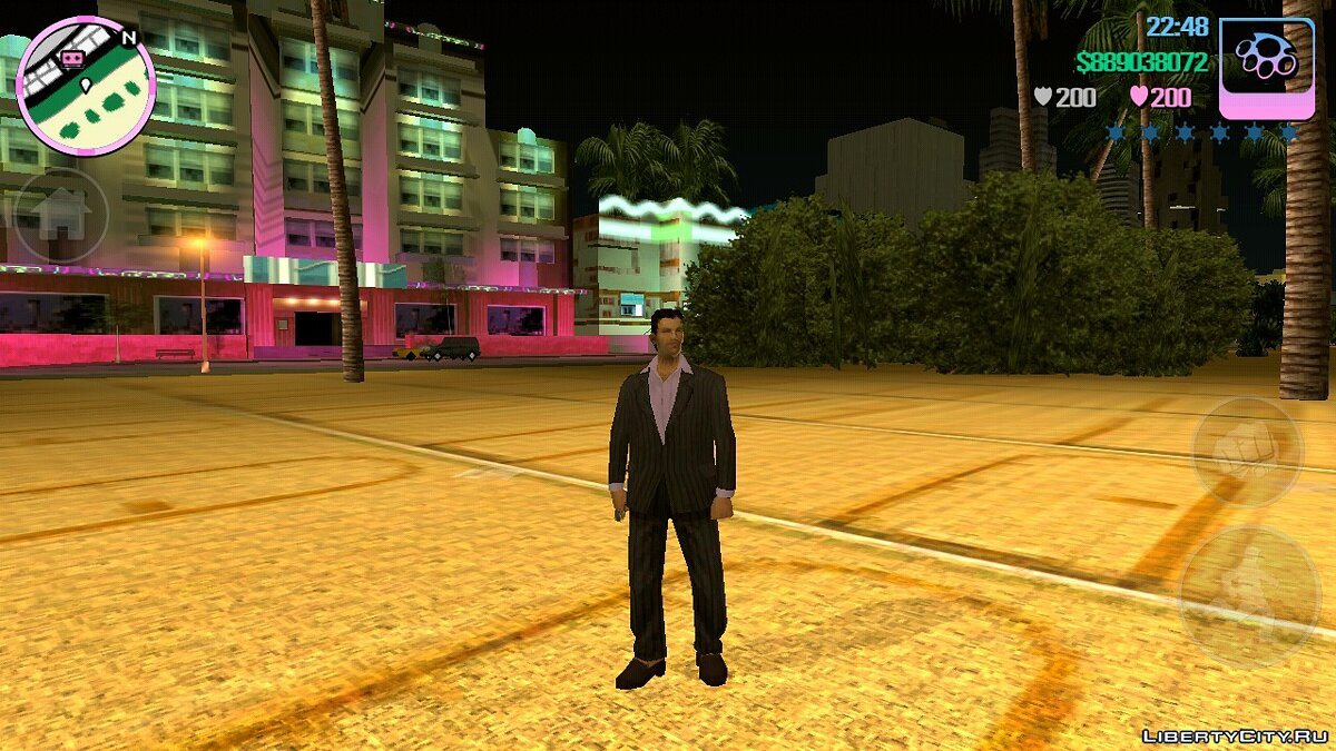 Mod Graphics from Vice Cry (Timecyc) for GTA Vice City (iOS, Android)