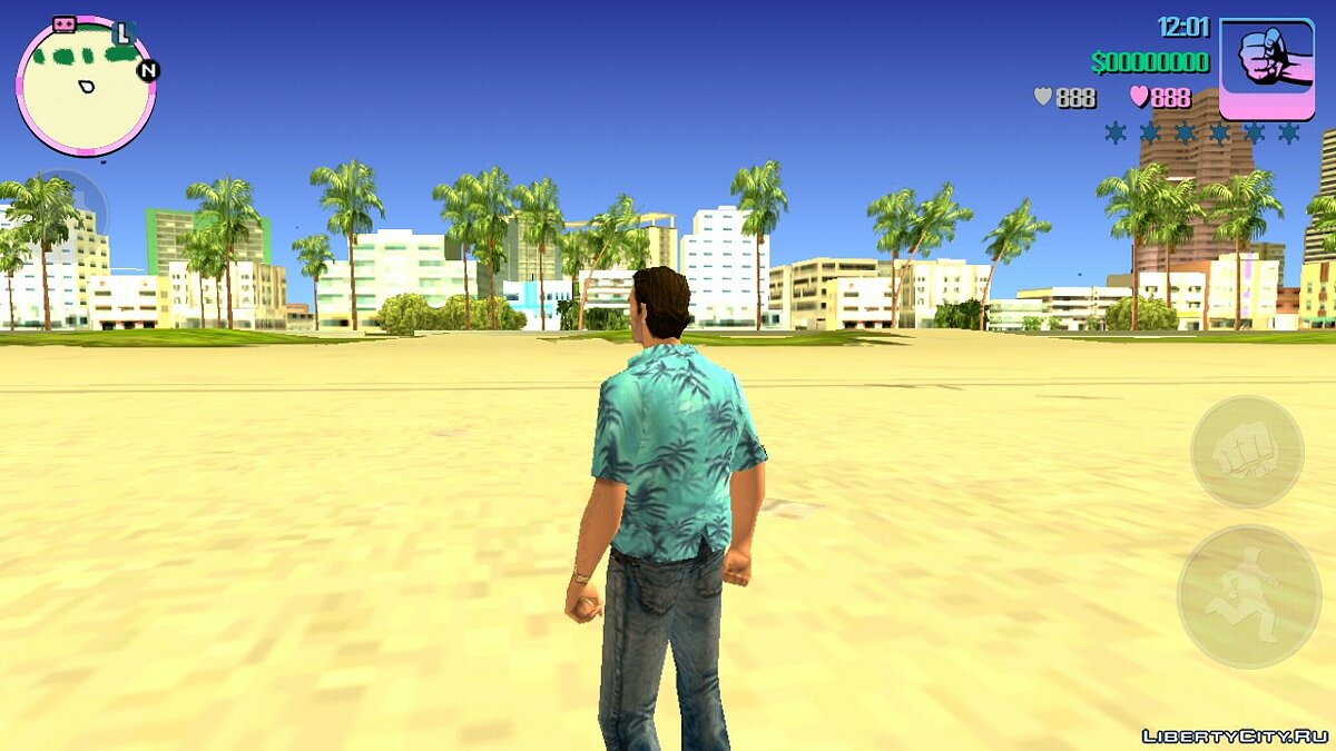 Mod Realistic time cycle for GTA Vice City (iOS, Android)