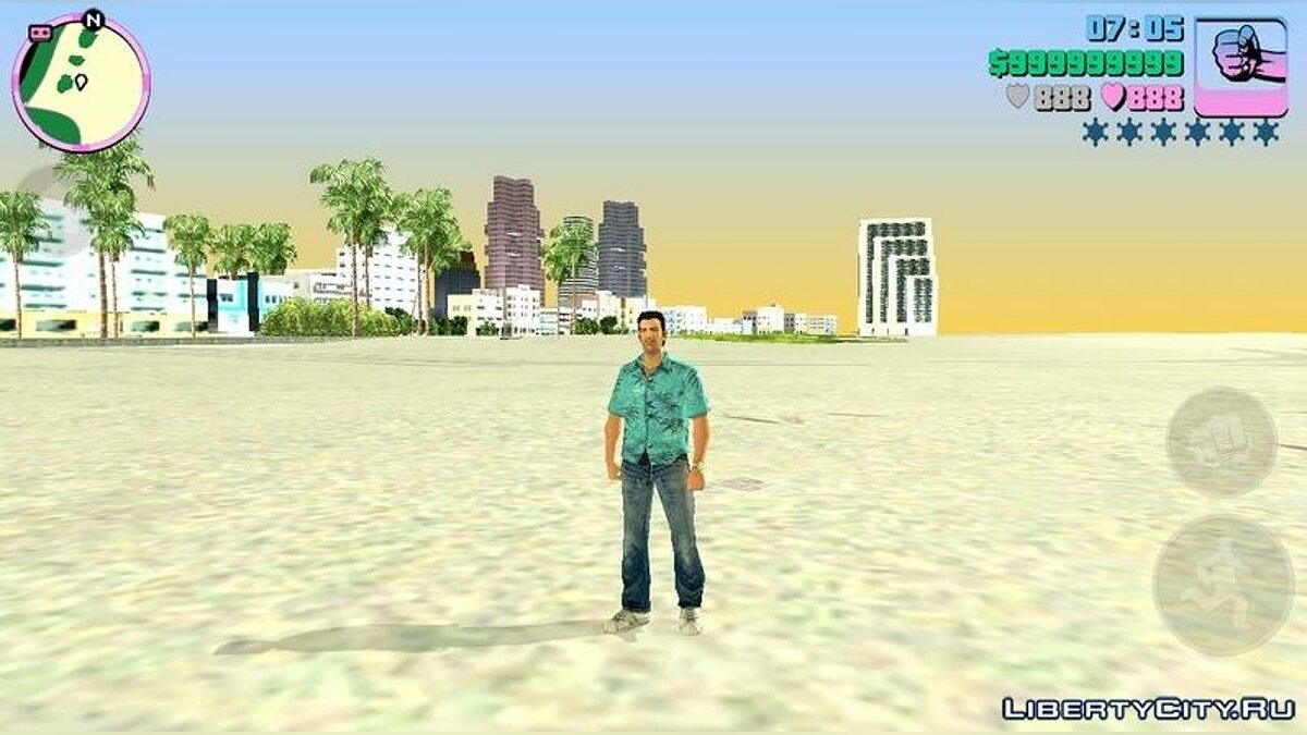 Mod Timecyc from GTA Vice City Stories for GTA Vice City (iOS, Android)