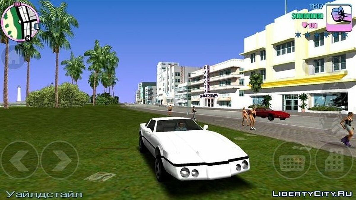 Mod Timesis from GTA LCS (PSP) for GTA Vice City (iOS, Android)