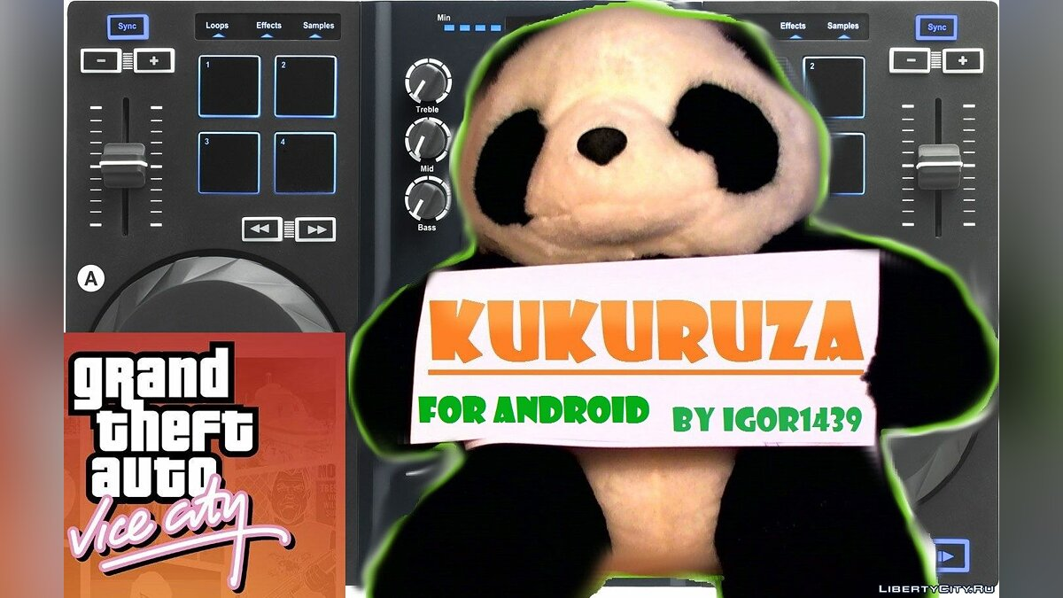 Kukuruza.fm for android for GTA Vice City (iOS, Android)