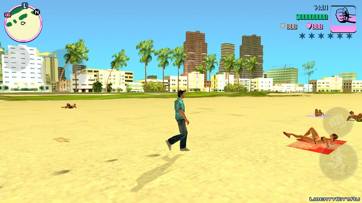 Mod Animations from GTA 5 for GTA Vice City (iOS, Android)