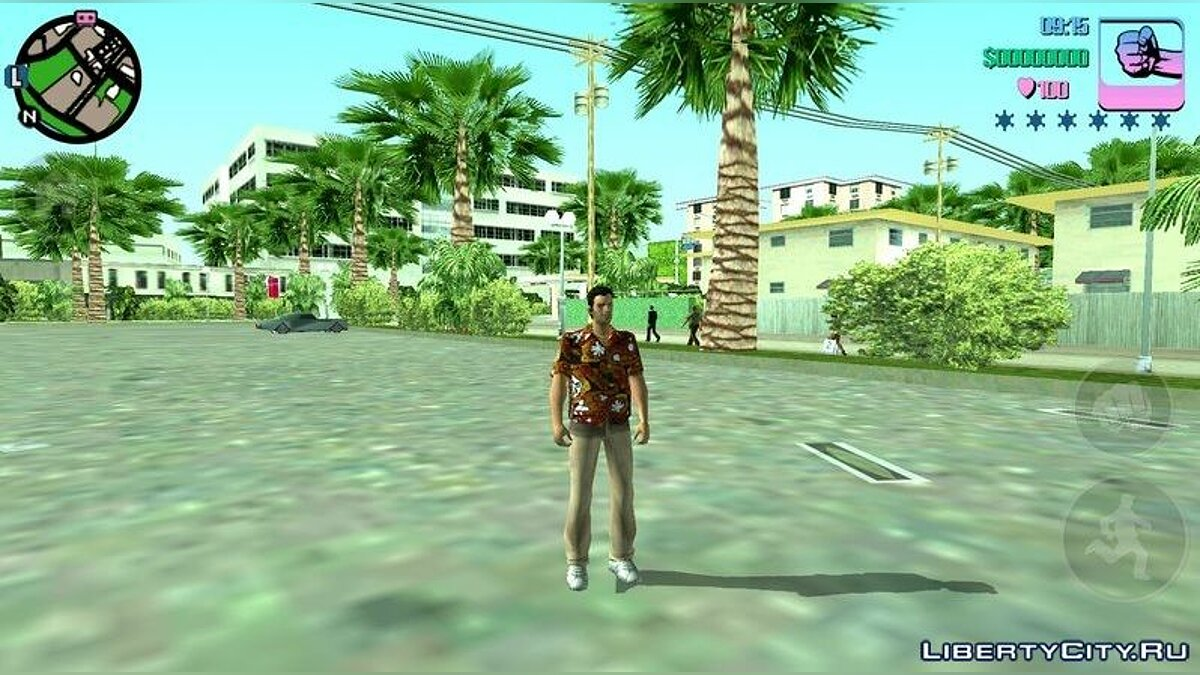 Mod LCS PS2 Timecyc for Vice City for GTA Vice City (iOS, Android)