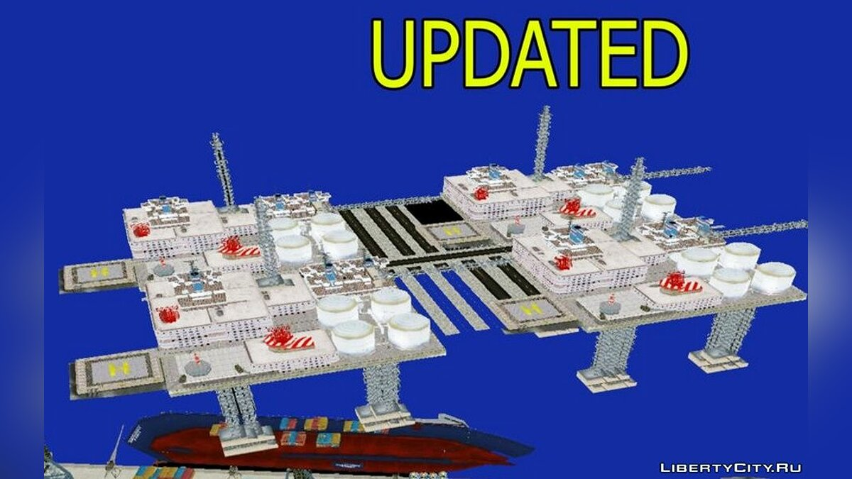Mod Oil production platform for GTA Vice City (iOS, Android)
