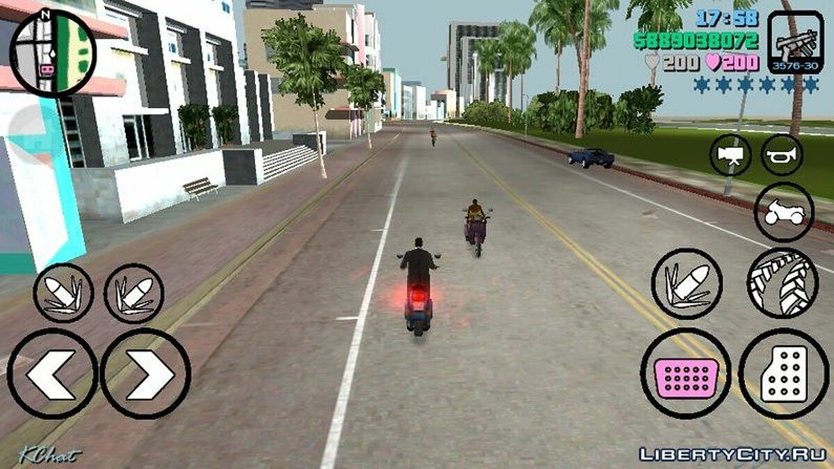 Mod Improved Effects (Improved Game) for GTA Vice City (iOS, Android)