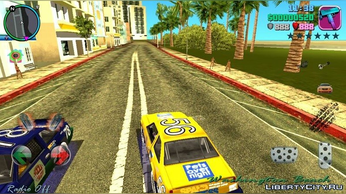 Mod Rare cars on the road V 0.1 for GTA Vice City (iOS, Android)