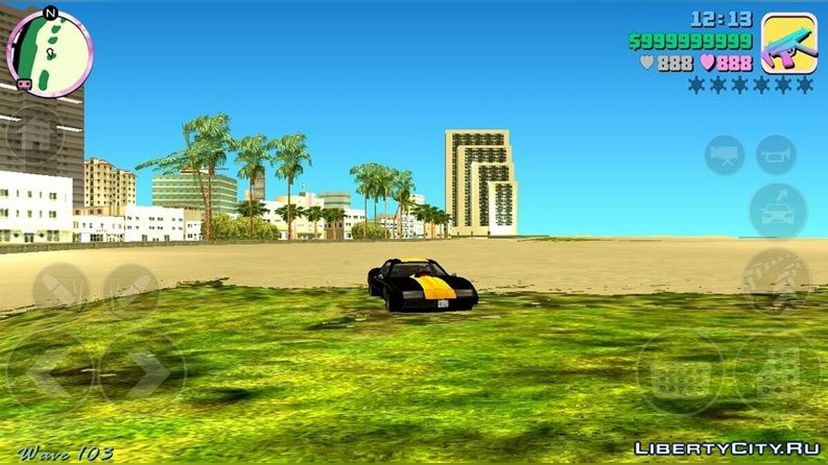 Mod Realistic Graphics (HQ Timecyc) for GTA Vice City (iOS, Android)