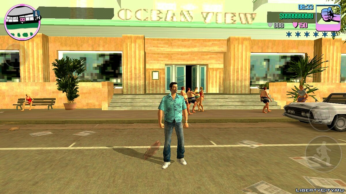 Save 48% completed (story missions not completed) for GTA Vice City (iOS, Android)