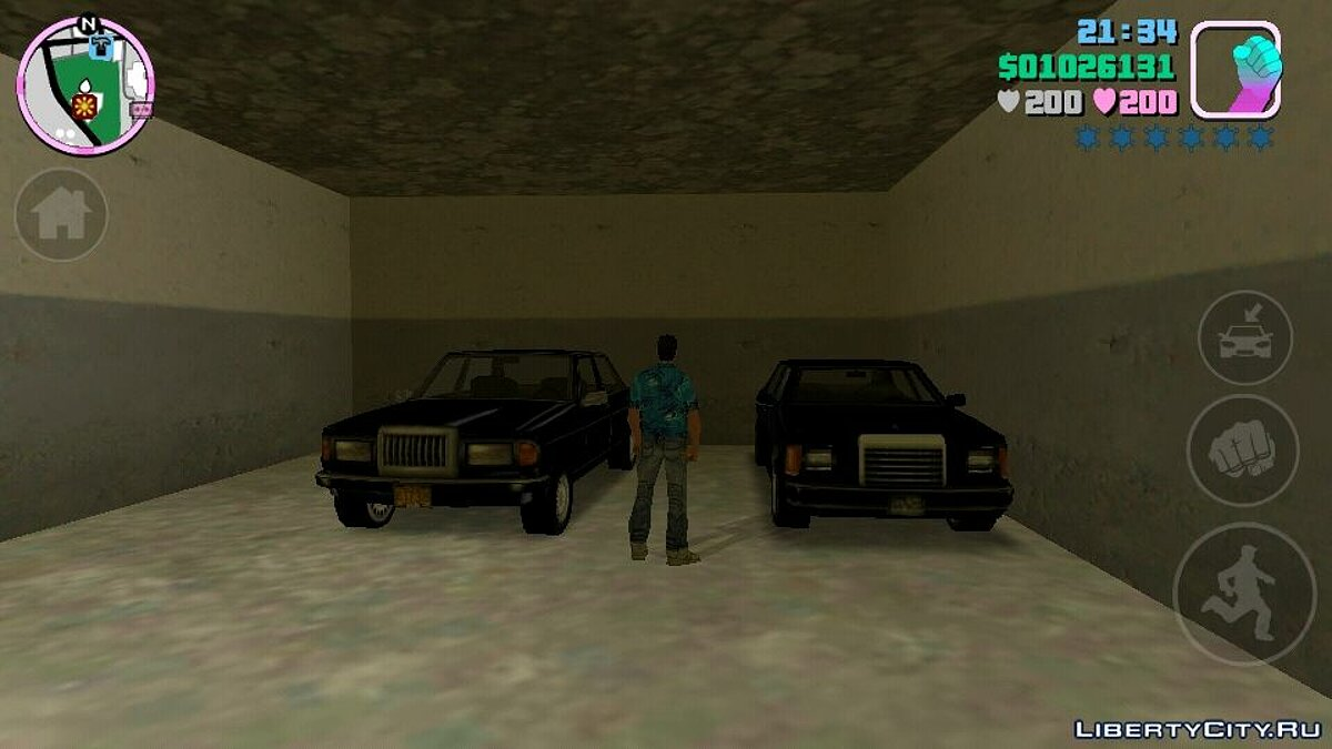 Save GTA VC 100% save with unique vehicles for GTA Vice City (iOS, Android)