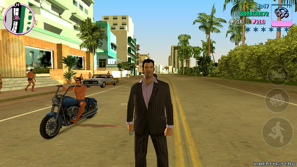 Save 100% completed, all packages collected for GTA Vice City (iOS, Android)