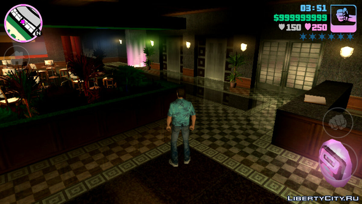 Save Perfect start to 100% progress (0.30 minute speedrun) for GTA Vice City (iOS, Android)