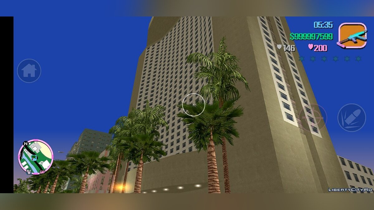 Global mod PS2 MOD v1.3 + Fix (Android) for GTA Vice City (iOS, Android)