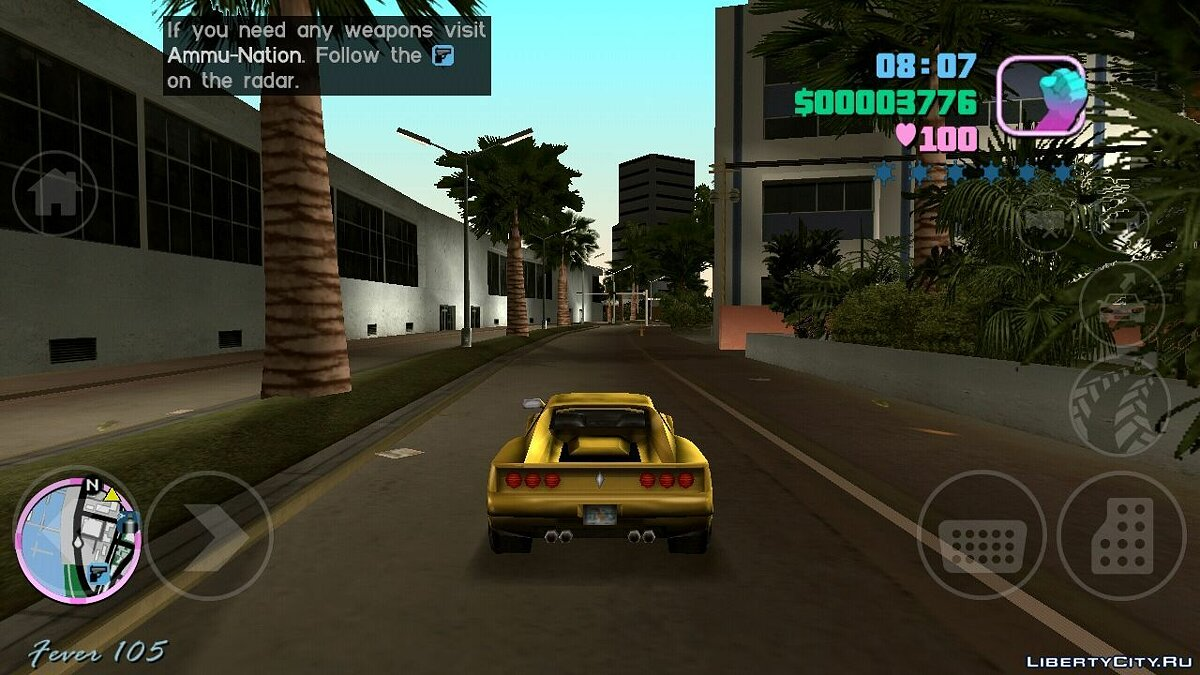Global mod GTA VS PK MOD VZ for GTA Vice City (iOS, Android)