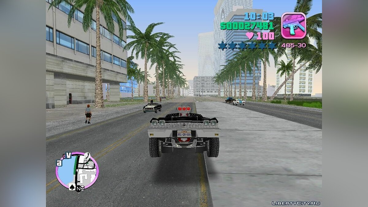 Mod Handling and sounds from GTA Vice City Final Mod for GTA Vice City