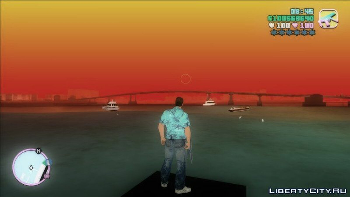 Mod San Andreas Weather for GTA Vice City