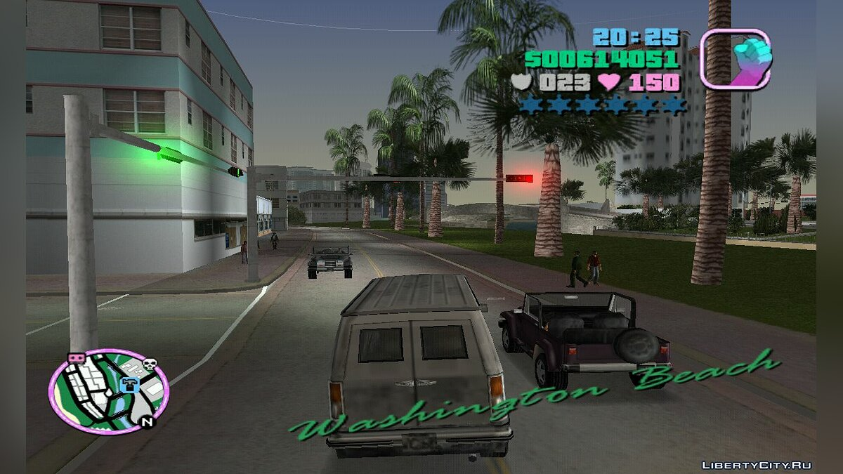 Mod Optimized Traffic Paths for GTA Vice City