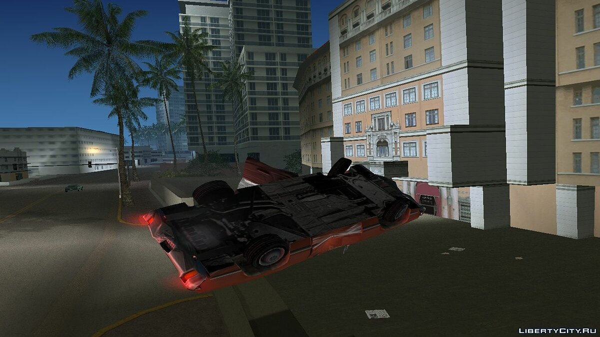 Improved Car Crash Physics Mod for GTA Vice City