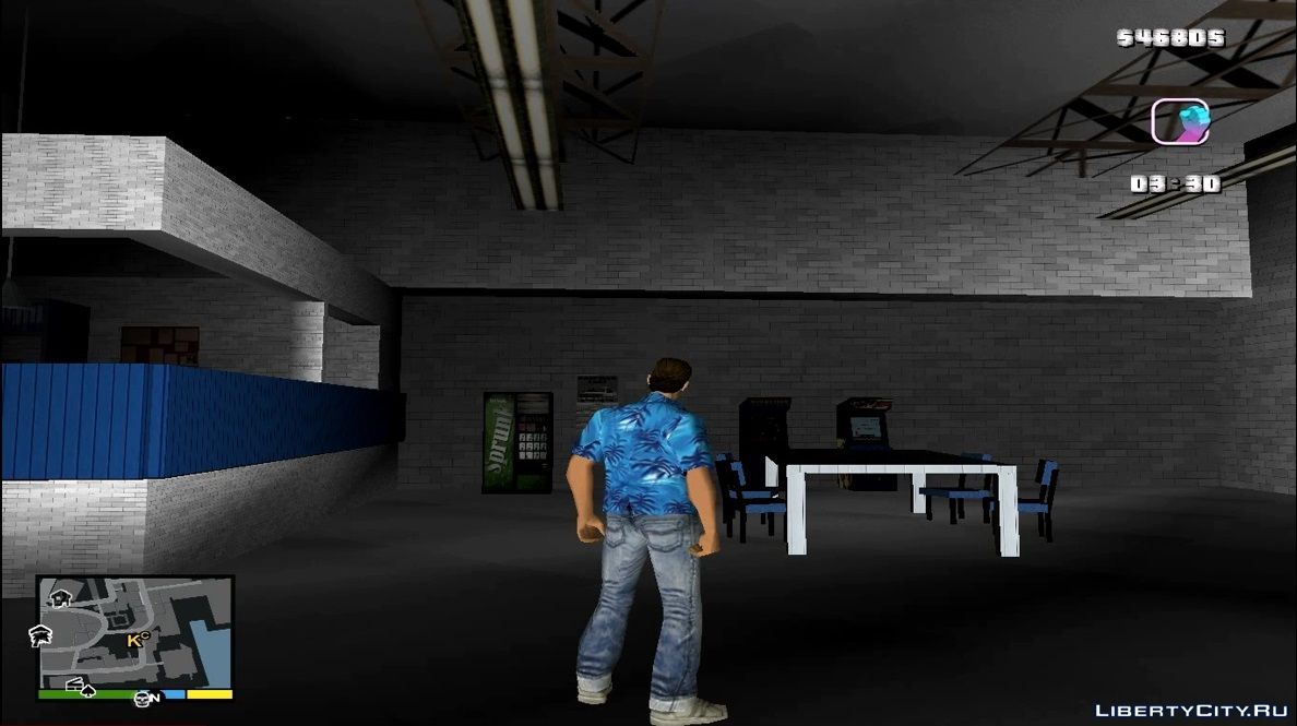 New textures for GTA Vice City: 204 texture mod for GTA Vice City