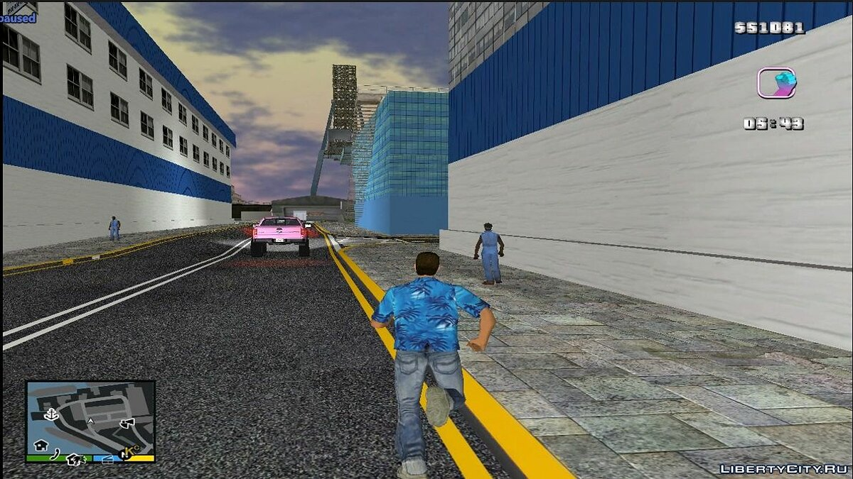 Texture mod Docks Pay N Spray and Builds for GTA Vice City