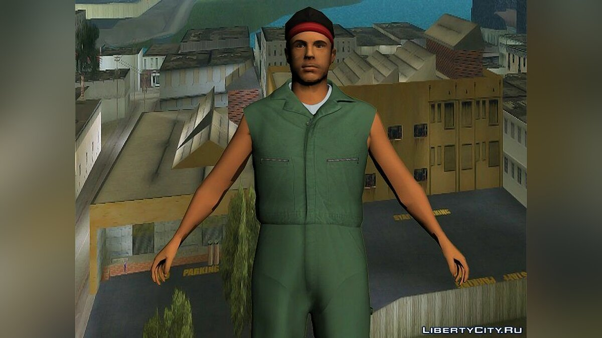 Texture mod Ernest Kelly and his staff in HD for GTA Vice City