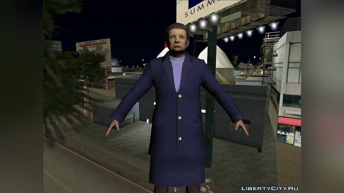 Texture mod Aunt Poulet and Maud Hanson in HD for GTA Vice City