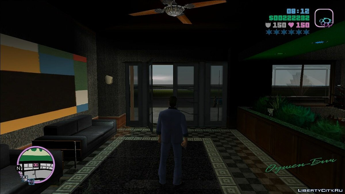Texture mod HQ map of GTA VC for GTA Vice City