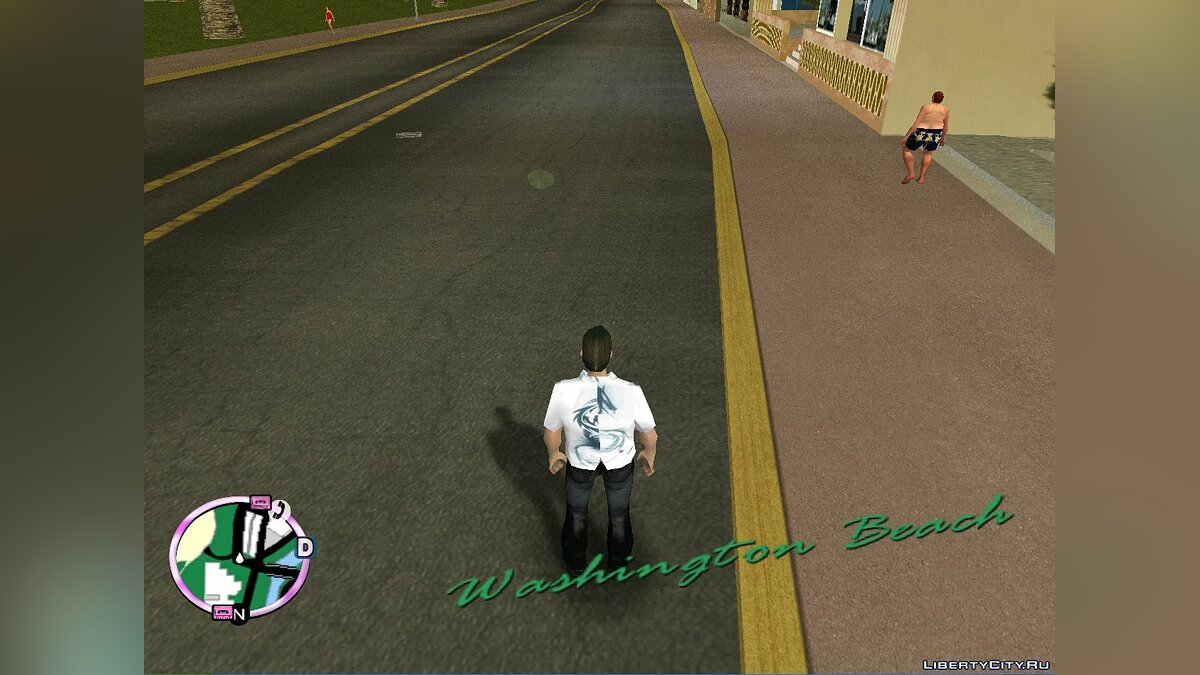 Texture mod New HD road texture for GTA Vice City