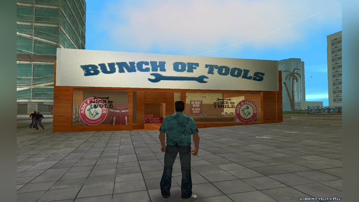 Texture mod New Tool Store 2016 for GTA Vice City
