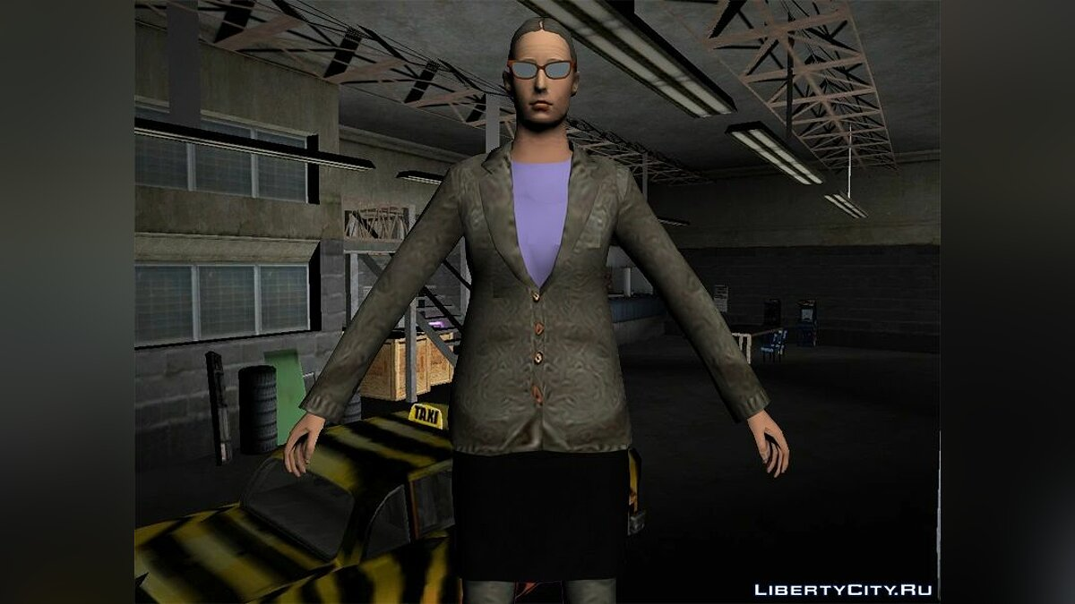 Texture mod Doris and taxi drivers in HD for GTA Vice City